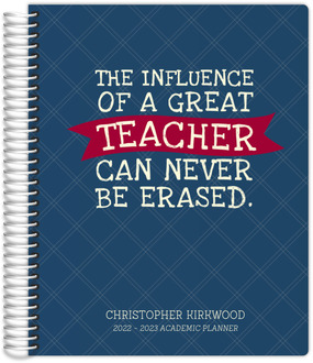 Great Influence Teacher Planner