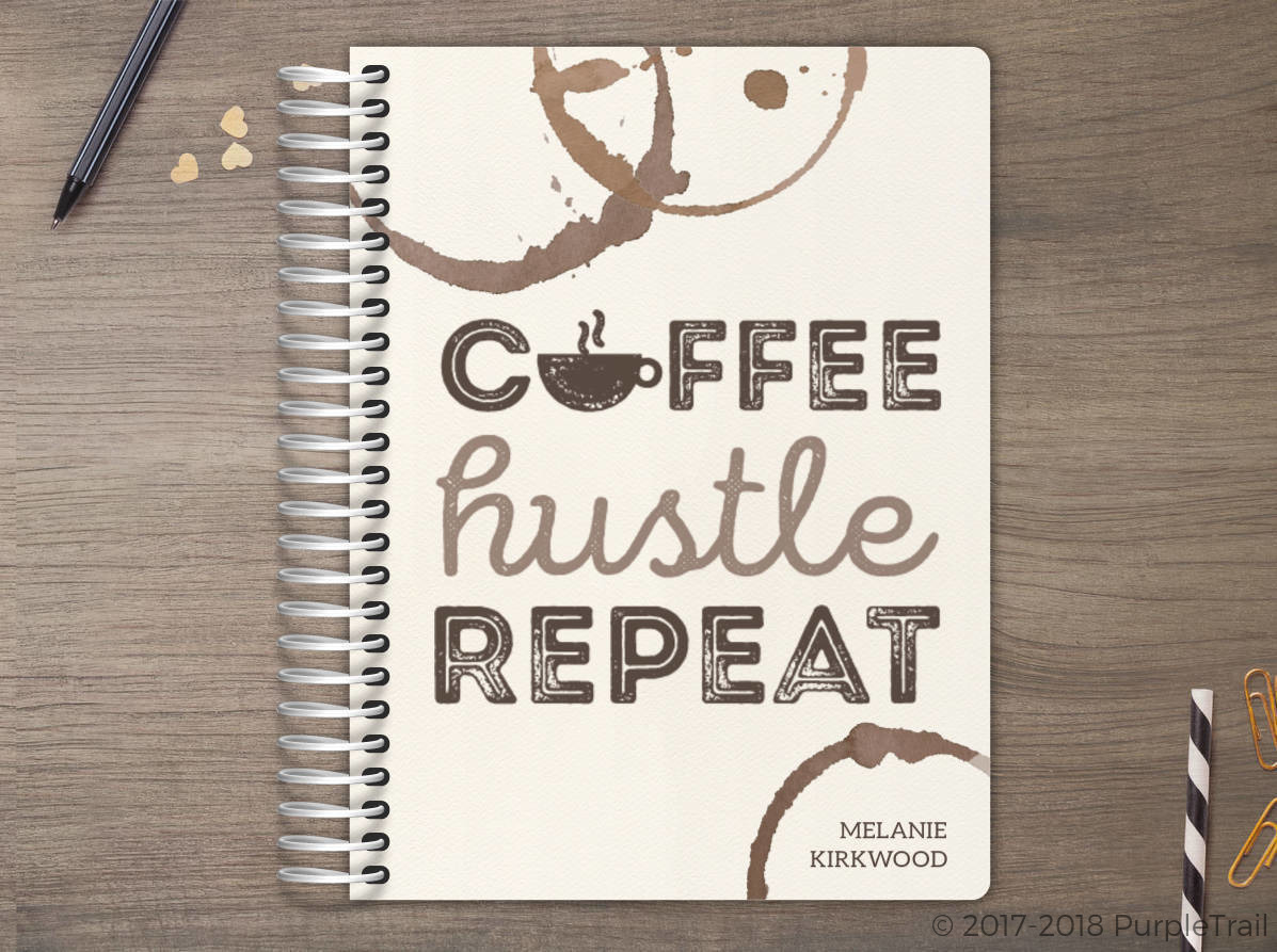 Coffee Hustle Repeat Meal Planner