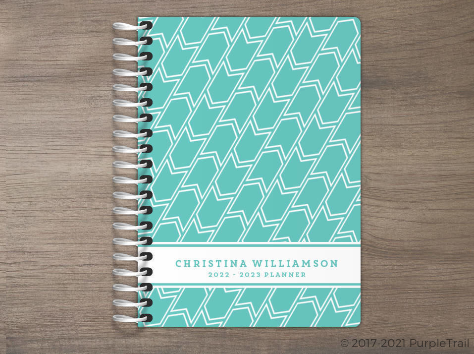 Banner Pattern Tiny Planner