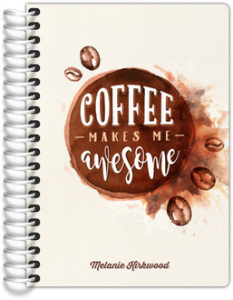 Coffee Makes Me Awesome Tiny Planner