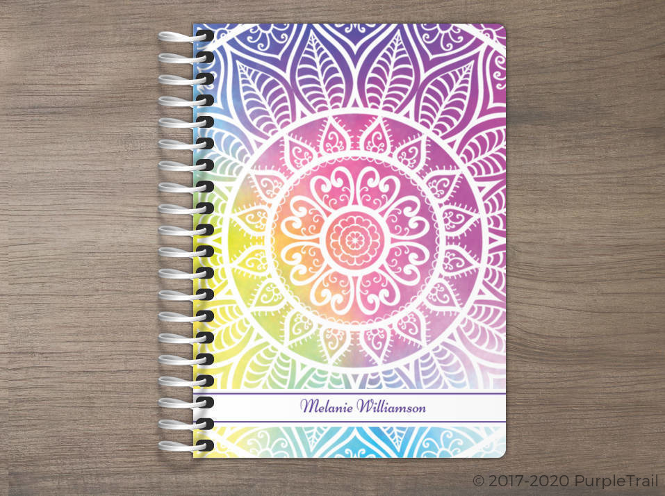 Colorful Mandala Tiny Planner