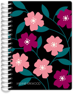 Bold Floral Tiny Planner