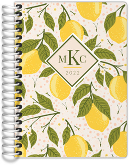 Lemon Vine Tiny Planner