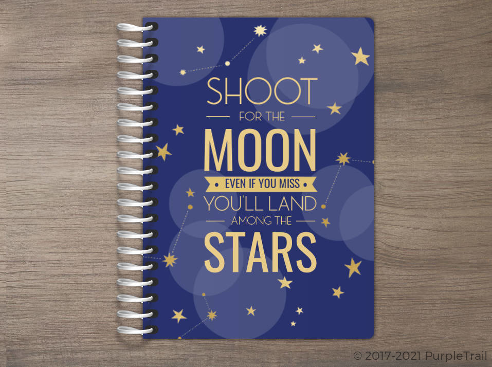 Bokeh And Stars Tiny Planner