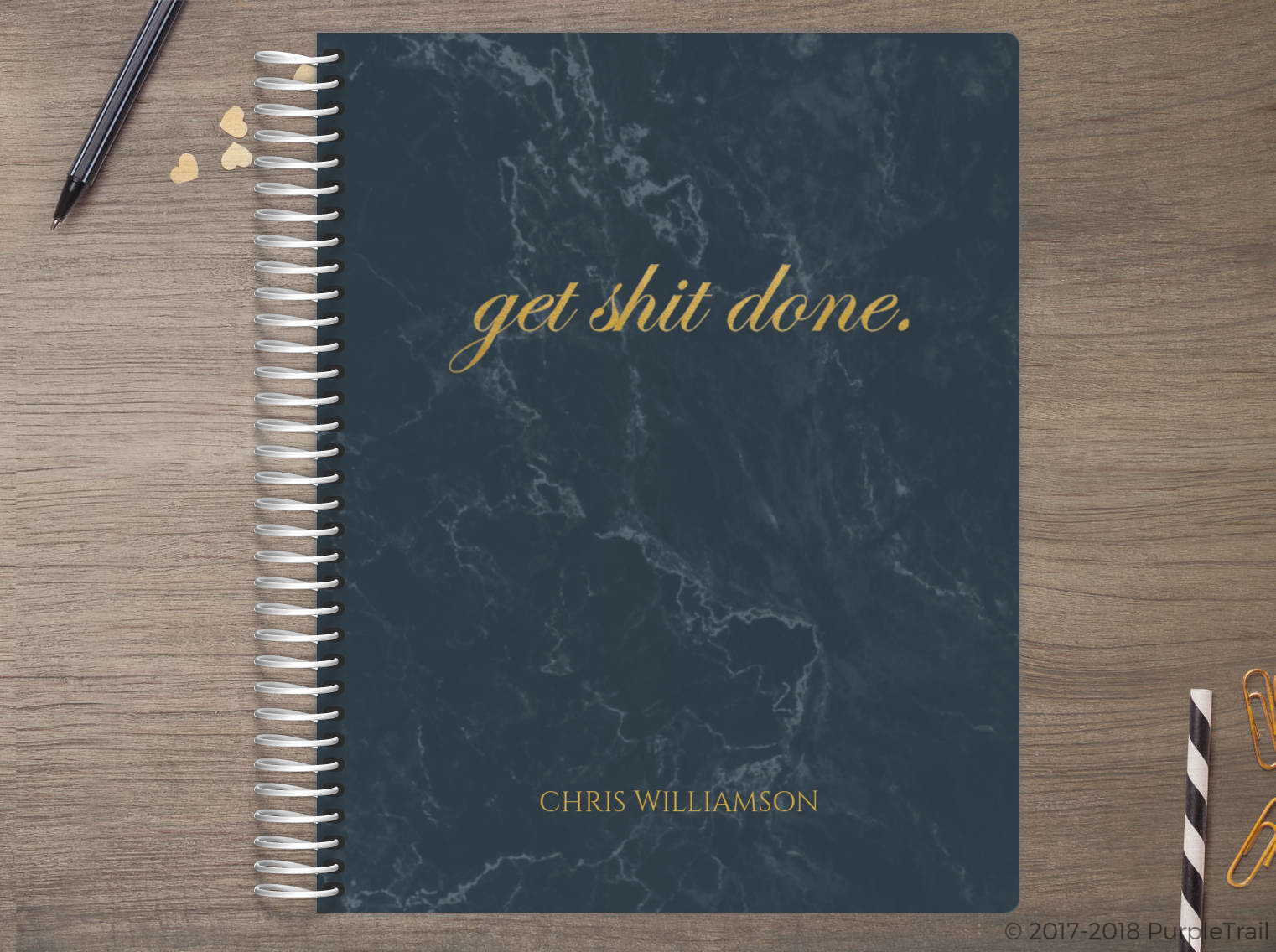 Marbled Get It Done Meal Planner
