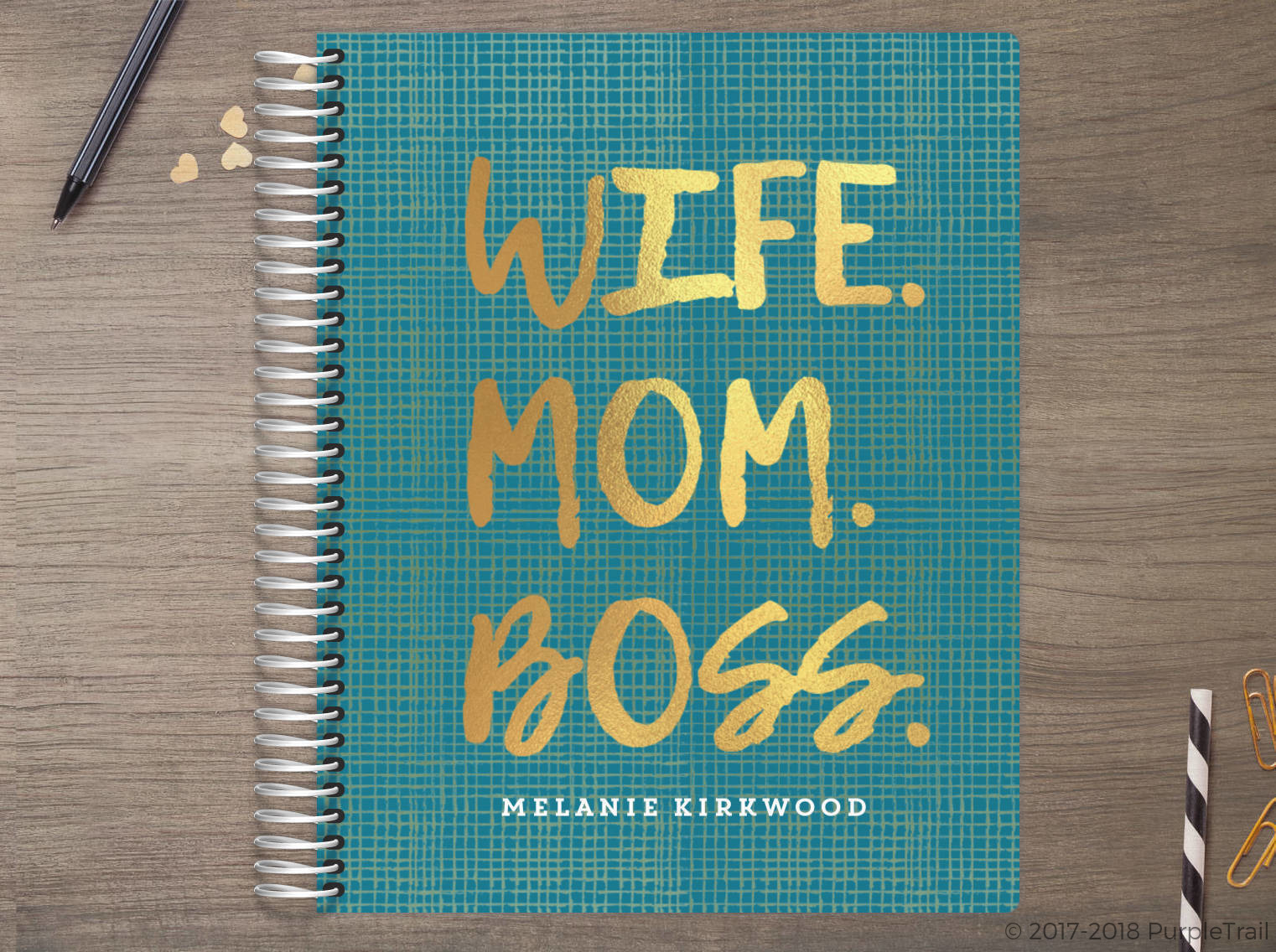 Wife Mom Boss Meal Planner