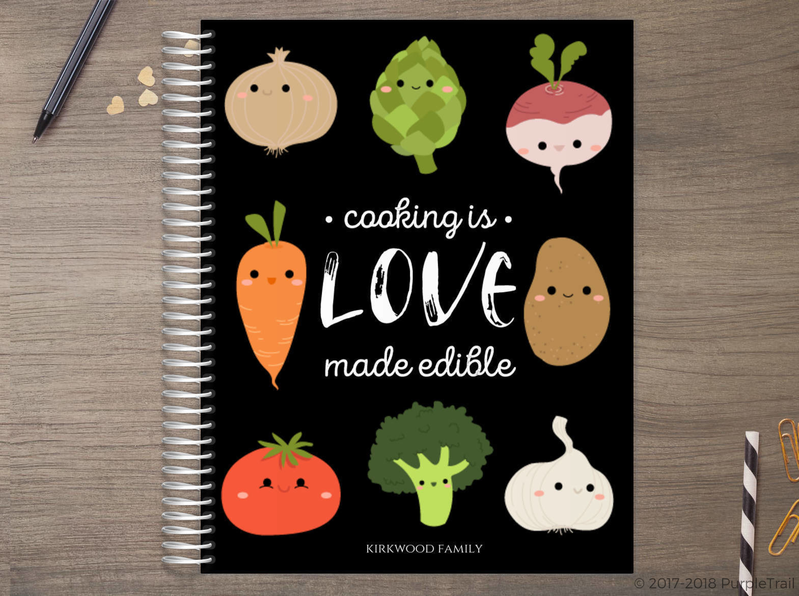 Cooking is Love Meal Planner
