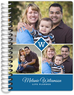 Monogram Photo Collage Tiny Planner