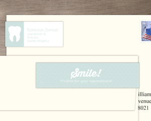 Smile Dental Address Label
