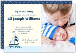First Mate Sibling Adoption Announcement