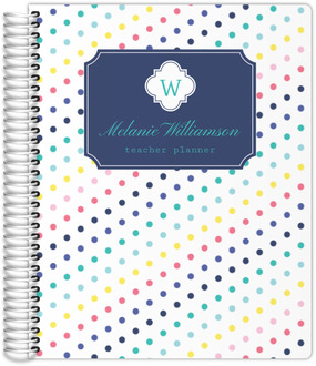 Simply Stunning Monogram Teacher Planner