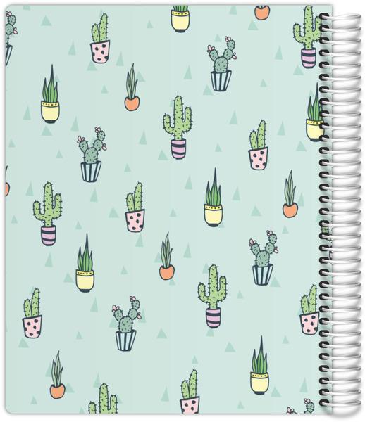 Cactus Pattern Mom Planner