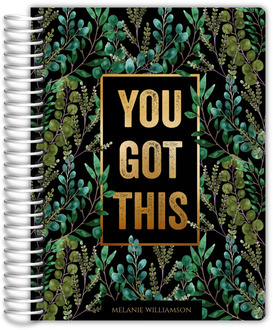 You Got This Foliage Custom Student Planner