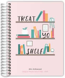 Treat Yo Shelf Teacher Planner