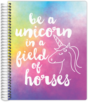 Watercolor Unicorn Teacher Planner