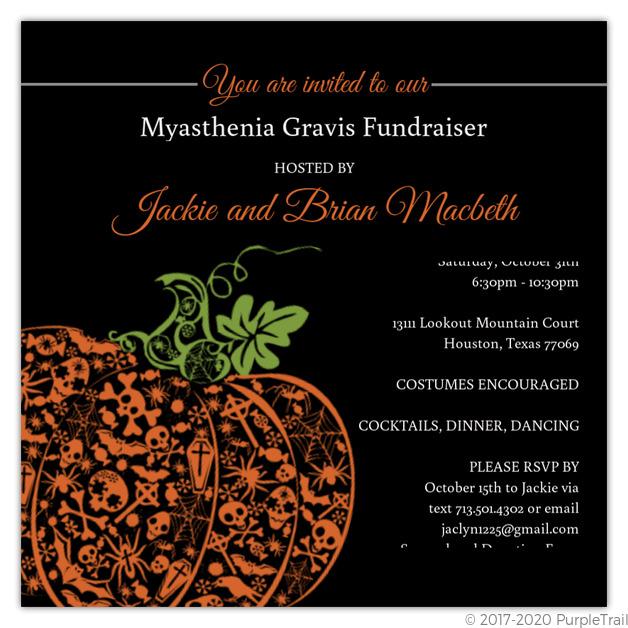 fancy pumpkin halloween party invite halloween invitations