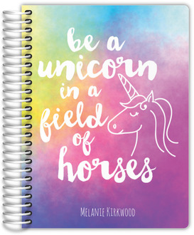 Watercolor Unicorn Student Planner