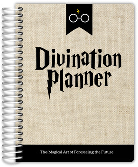 Antique Burlap Divination Student Planner