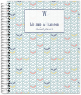 Arrow Chevron Pattern Student Planner