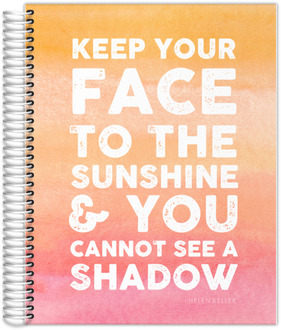 Sunshine Watercolor Teacher Planner