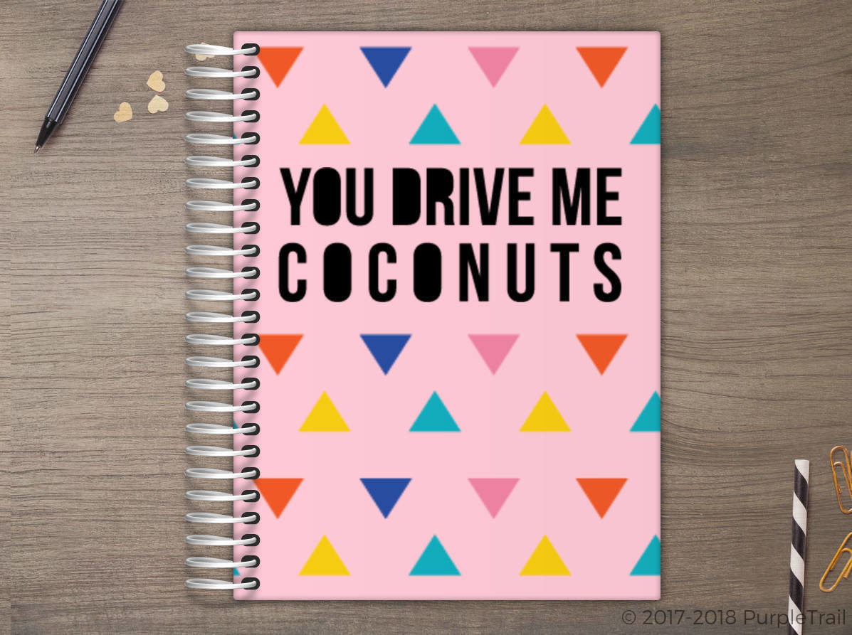 Drive Me Coconuts Meal Planner