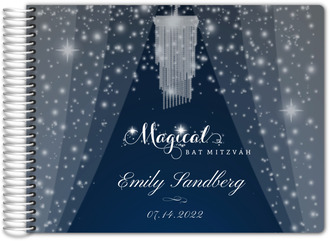 Shimmering Magical Bat Mitzvah Guest Book