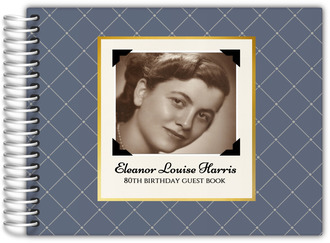 Vintage Photo Birthday Guest Book
