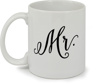 Rustic Arrow Mr. Coffee Mug
