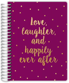 Love Laughter Polka Dot Wedding Planner