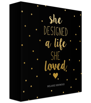 Life She Loved 3-Ring Binder