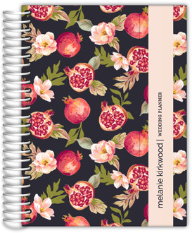 Pomegranate and Florals Wedding Planner