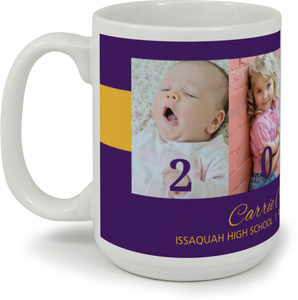 School Colors Timeline Graduation Mug