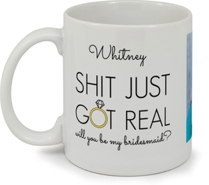 Bridesmiad Photo Custom Mug