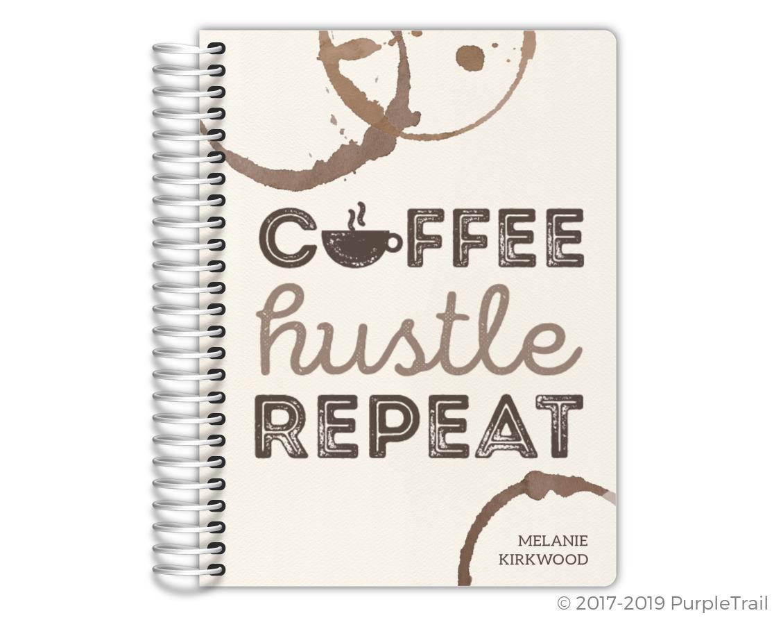 Coffee Hustle Repeat Mom Planner