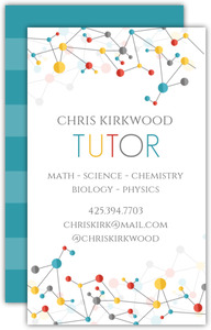 Colorful Molecules Business Card