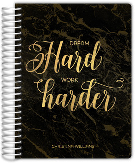Dream Hard Weekly Planner 6x8