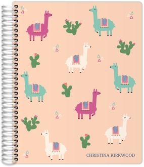 Llama And Cactus Daily Planner