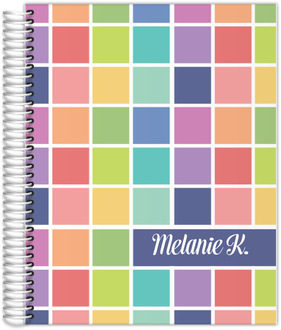 Color Swatch Student Planner 8.5x11