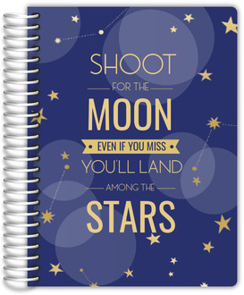Moon and Stars Teacher Planner 6x8
