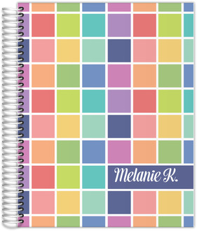 Color Swatch Teacher Planner 8.5x11