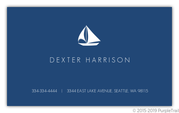 Navy blue nautical business card business cards navy blue nautical business card colourmoves
