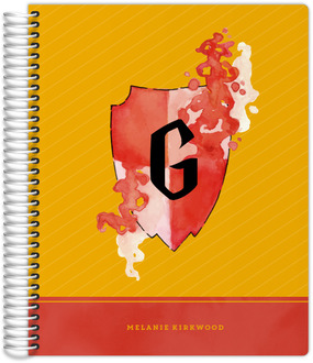 Red & Yellow Shield Student Planner  8.5x11