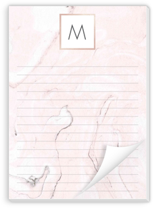 Blush Marble Notepad
