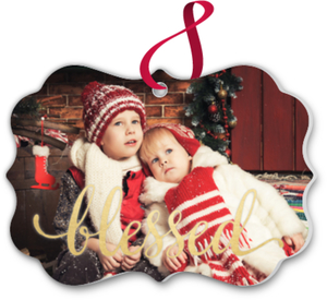 Blessed Family Photo Ornament