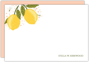 Lemon Vine Notecard