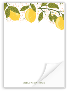 Lemon Vine Notepad