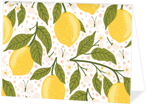 Lemon Vine Thank You Card
