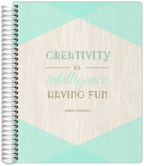 Mint and Rustic Creativity Custom Daily Planner 8.5X11