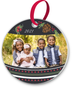 Decorative Custom Photo Ornament