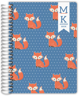 Cute Fox Address Book